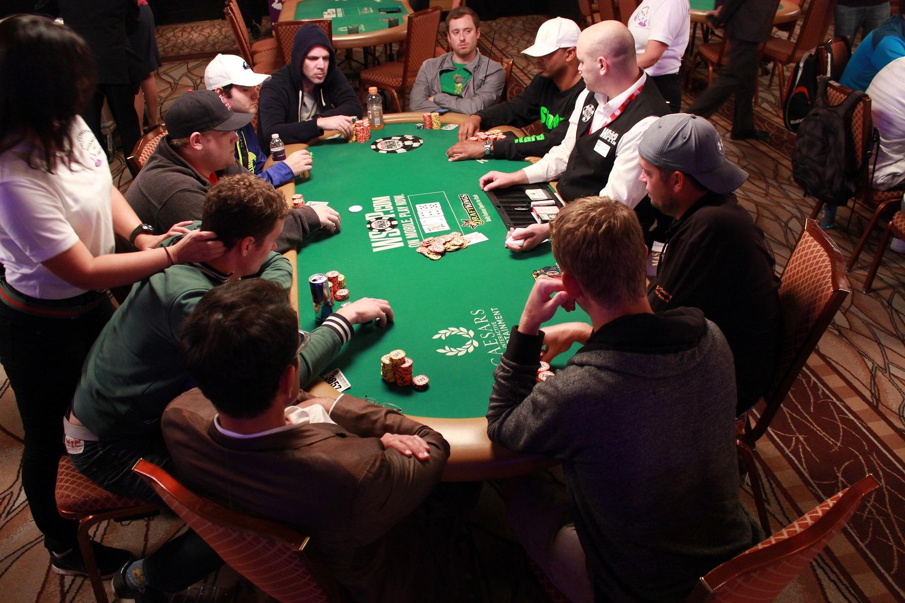 WSOP 2015-ME: temps calme