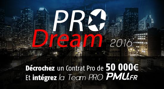ProDream 2016 #8 : Money Time !