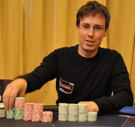 Romain 'ImSoWeeeaK ' Nussman - Photo @Club Poker