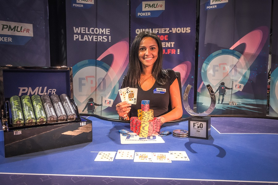 FPO Saint-Amand: Sarah Herzali remporte le Main Event !