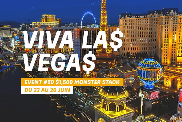 Event #50: Monster Stack – $1,500 No-Limit Hold'em