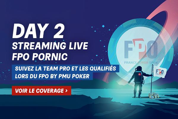 FPO Pornic : Suivez l'intégralité du coverage du Day 2 et la bulle en Live !