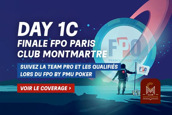 FPO Paris: Suivez l'intégralité du coverage du Day 1C