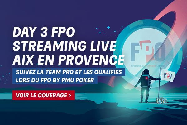 FPO Aix: Suivez l'intégralité du Day 3 en Live