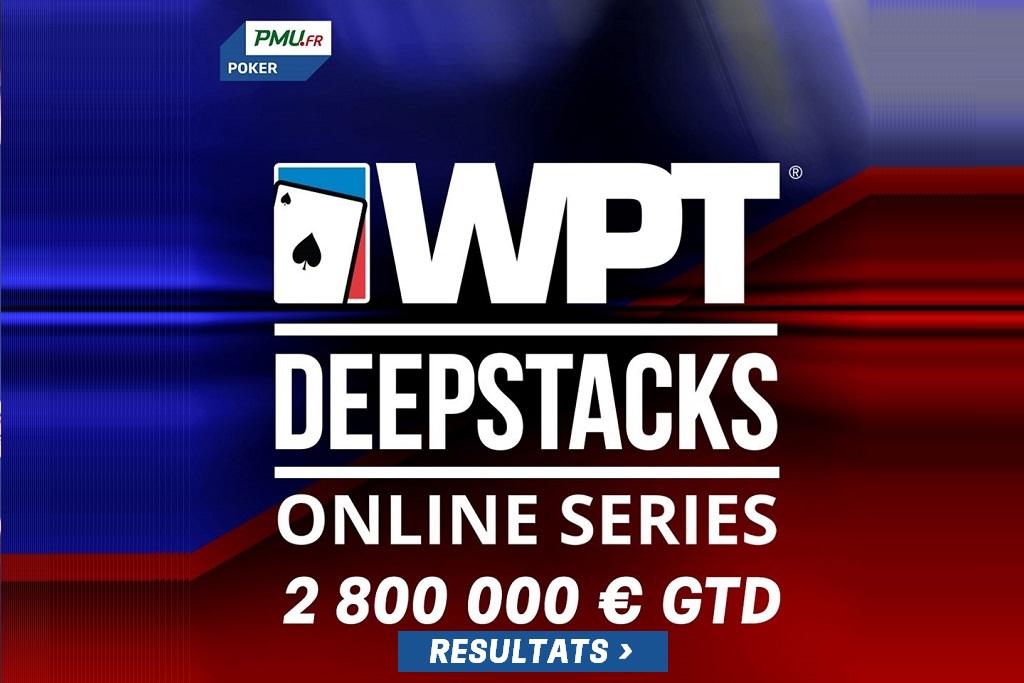 WPT DeepStacks Online Series : Résultats du 17 au 19 Avril