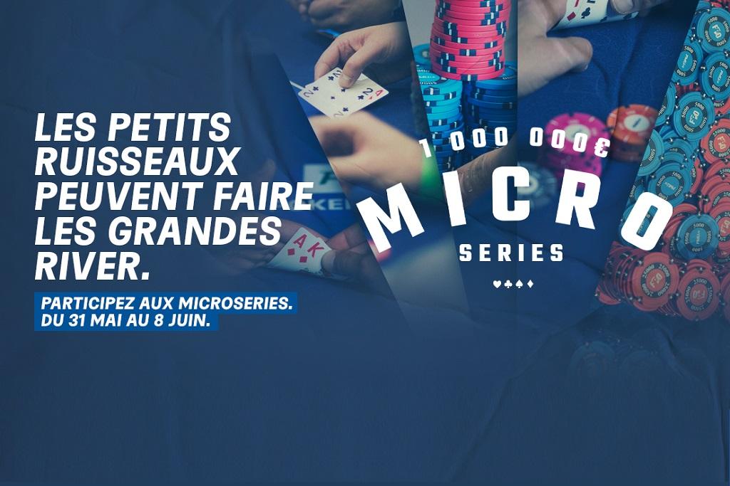 Les Micro Series arrivent sur PMU du 31 mai au 8 juin !
