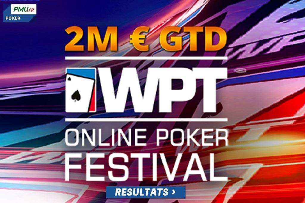 WPT Poker Festival: Résultats du Dimanche 1er Novembre