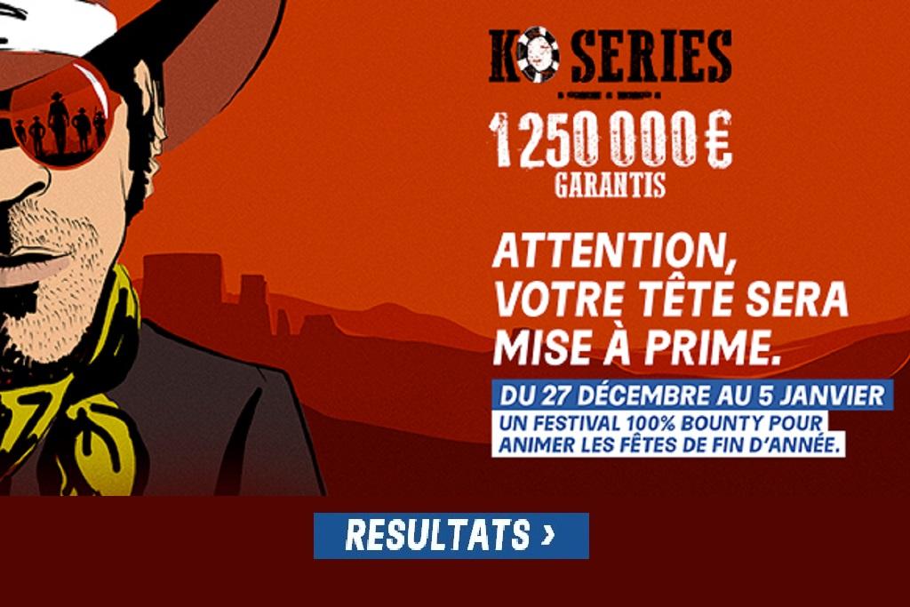 KO Series: Résultats du Mardi 5 Janvier & Bilan