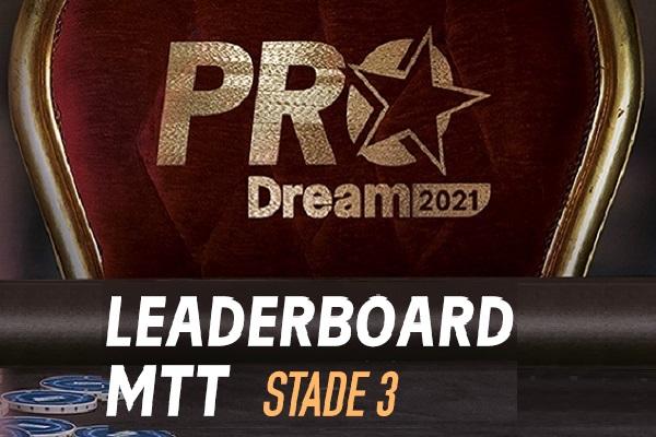 ProDream-Step3-MTT Challenge: les 5 Qualifiés pour la Finale sont…
