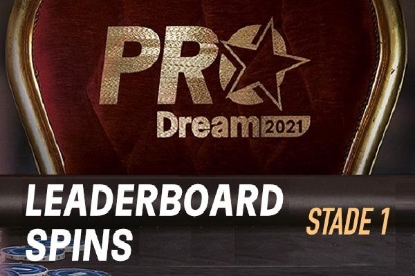 ProDream-Step1-Challenge Spins: et de 16 Qualifiés !