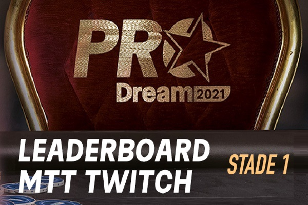 ProDream-Step1-Challenge Twitch: 3 qualifiés pour le Step2