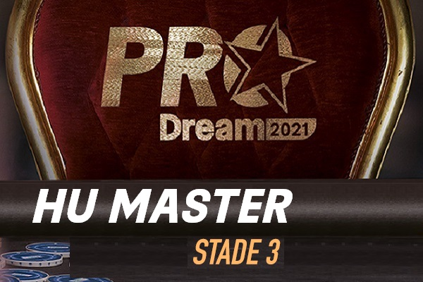 ProDream-Step3-HU Master: Damien Lhommeau qualifié pour la Finale !