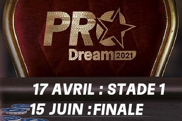 ProDream : Intégrez la Team Pro PMU Poker avec un contrat de 50 000€ !